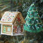 Teeny Christmas_ Jennifer Jones's Gingerbread Cottage & Cressida Chrimble's Christmas Tree